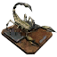 Giant Black Scorpion Trophy